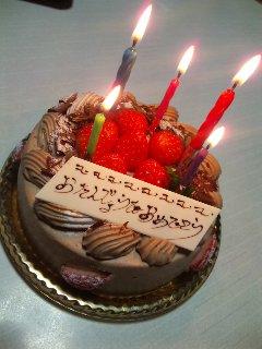 9月27日はお誕生日でした。もう10月です。