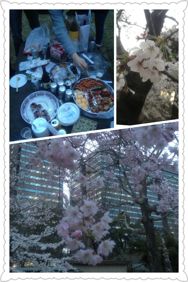 桜満開。なすイベ完売。